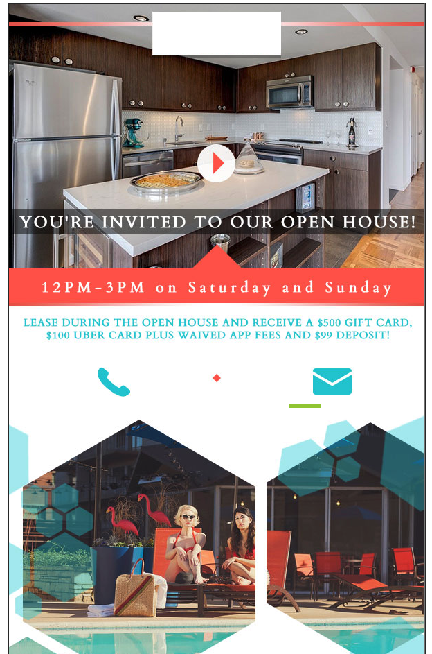 Email Campaign for Open House