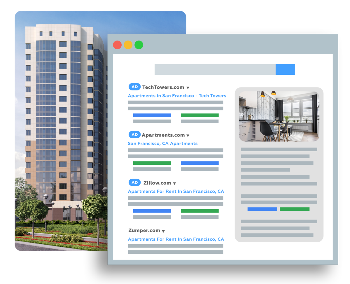 paid search for apartments